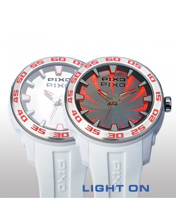 PX-8 WHITE RED